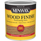 Minwax Wood Finish Penetrating Stain, Weathered Oak, 1 Qt. Image 1