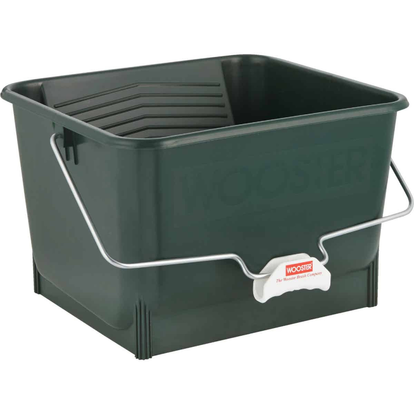 Wooster 4 Gal. Green Painter's Bucket Image 2