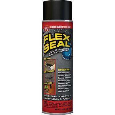 FLEX SEAL 14 Oz. Spray Rubber Sealant, Black