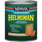 Minwax Helmsman Quart Semi-Gloss Water-Based Spar Interior/Exterior Varnish Image 1