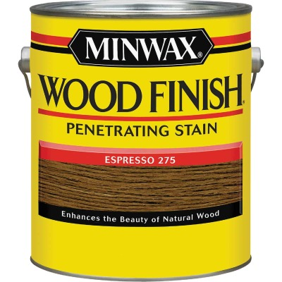 Minwax Wood Finish Penetrating Stain, Espresso, 1 Gal.