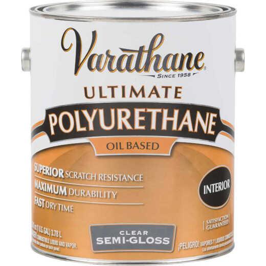 Varathane VOC Semi-Gloss Interior Polyurethane, 1 Gal.