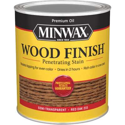Minwax Wood Finish Penetrating Stain, Red Oak, 1 Qt.