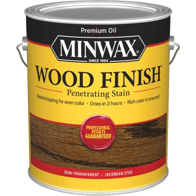 Minwax Wood Finish Penetrating Stain, Jacobean, 1 Gal.