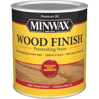Minwax Wood Finish Penetrating Stain, Ipswich Pine, 1 Qt.