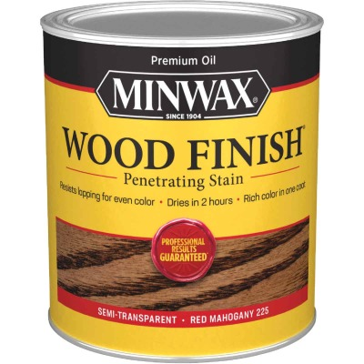 Minwax Wood Finish Penetrating Stain, Red Mahogany, 1 Qt.