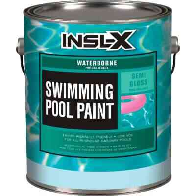 Insl-X 1 Gal. Royal Blue Semi-Gloss Waterborne Pool Paint