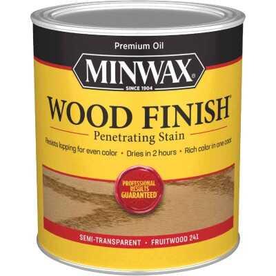 Minwax Wood Finish Penetrating Stain, Fruitwood, 1 Qt.
