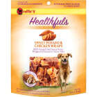 Ruffin' it Healthfuls Sweet Potato & Chicken Flavor Chewy Dog Treat, 1 Lb. Image 1