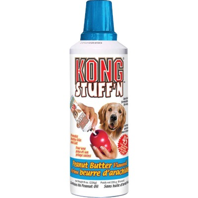 Kong Stuff'N Peanut Butter Flavor Paste Dog Treat, 8 Oz.