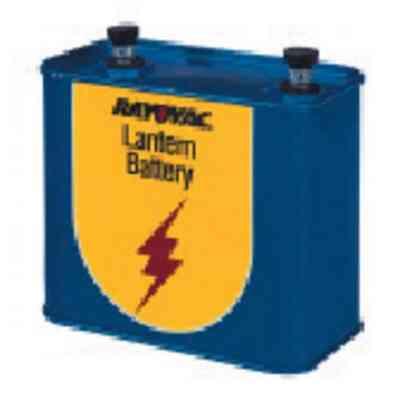 Rayovac 12V Screw Terminal Zinc Lantern Battery